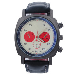 Wholesale New Hot high quality brand watches men s hollow out quartz watch sports watches of man and woman f1 military Leather Ferrari Watch car watch