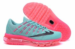 Wholesale Drop Ship max Mesh For Women Running Sports Trainers Outdoor athletic trainers shoes with box