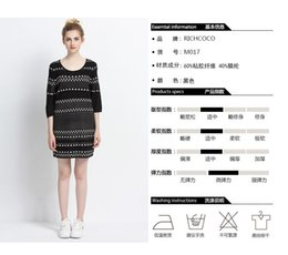 Wholesale Winter fashion leisure bump color sets paragraph cultivate one s morality grows in striped sweater knitting render women dress