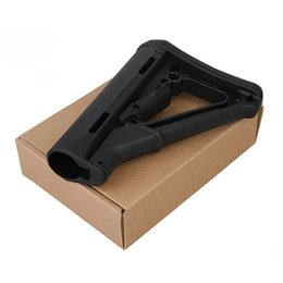 Wholesale High Quality Tactical Compact Type Buttstock For AR15 M16 Carbines Using CRT version Black