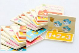 Wholesale basic arithmetic learning board montessori educational math toy baby wooden toys kid mathematics tools toy