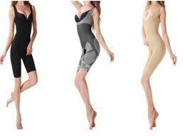 Wholesale Promotion Women s body shaper High Quality Slim Corset Slimming Suits Bodysuit Shapewear Bamboo Charcoal Sculpting Underwear