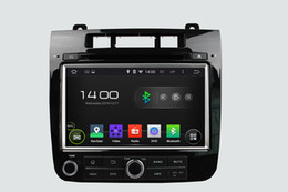 Double Din Andriod 8 Inch Touch Screen VW Touareg Car DVD GPS With Bluetooth & Radio & Navigator