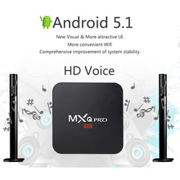 Wholesale MXQ Pro Android TV Box K Ultimate Kodi XBMC Fully Loaded Android Lollipop Quad Core GB GB Android Mini PC Wifi HDMI Media Player