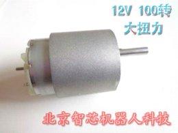 Wholesale 1set Motor Kit v RPM DC Gear Motor mm Motor Mounting Bracket mm Coupling mm Car Wheel Matching Screws