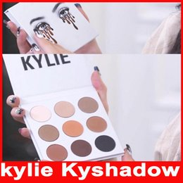 Wholesale Kylie Jenner Kyshadow eyeshadow Pressed Powder Bronze Kit Eye shadow Palette Bronze Preorder Natural Brighten Makeup Colors in stock