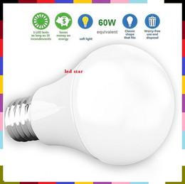 Wholesale W Equivalent W LM LED A19 E27 Led Bulb Light Warm Cold White CRI90 Lumens Medium Screw Base AC V UL Listed