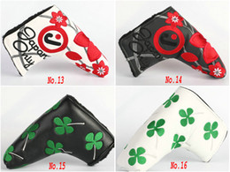 Wholesale New Hot Golf Clubs Head Cover High Quality PU Embroider Golf Putter Headcover Color to Choice
