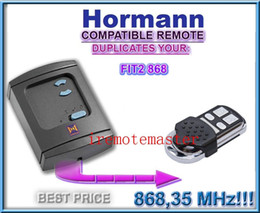 Wholesale 2 pieces Aftermarket Hormann FIT2 universal remote control replacement garage door remote with MHZ