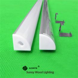 10m 10X1m 40inch Corner led aluminium profile for led tape and rigid strip ,led cabinet triangle bar light with 5050 5630 strip