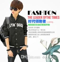 Promotion coton ouaté korean veste de baseball Sport Plein de style Hommes coréenne Zip Hoodie Fleece classique All-match de Coat Baseball Jacket Cardigan Fashion Men