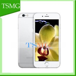 Wholesale 4 inch I6S smart phone with logo MTK6572 Dual core GB ROM smart cell phone dual camera in stock