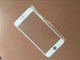 2017 iphone vidrio de alta calidad 2016 nueva 100% de alta calidad en blanco y negro para el iphone 6s de 4.7 pulgadas LCD frontal de vidrio toque lente frontal para el teléfono refurbish reparación de vidrio iphone vidrio de alta calidad oferta