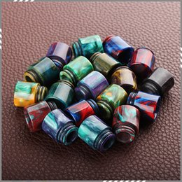 Wholesale Epoxy Resin Drip Tips For TFV8 Atomizer Tank Cloud Beast Tank Full Kit Kooper Primus W Mods Mouthpiece DHL Free
