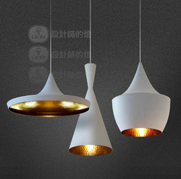 Wholesale 2016 new pack Black New ABC Tall Fat and Wide Design by tom dixon copper shade musical pendant lamp Beat Light V V