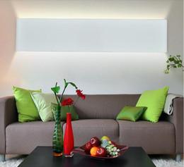 Wholesale 2016 new design Modern cm Long W Aluminum LED Wall Lamps for livingroom bathroom as Decoration Sconce Light V lamparas de pared