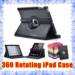 Wholesale ipad case Apple iPad Mini Air Pro Rotating Stand Smart PU Leather Cases Cover