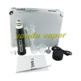 wholesale vape pen kit dabrig wax dab pen portable e nail kit quarz coil   ceramic coil  titanium coil-- 03