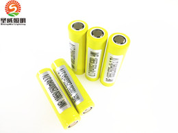 Wholesale Authentic Battery mah A High Drain Rechargeable Batteries PK LG HE4 HG2 MJ1 A Sony VTC5 VTC4 Fedex