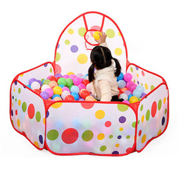 0.9M Ball Pool Children Kid Ocean Ball Pit Pool Game Play Tent Outdoor Kids Hut Pool Play Tent Children's Tent House Indoor Game Baby Toys