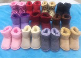 Wholesale Baby shoes schoentjes schoenen kids new baby girls Snow Boot warm first walker scarpe neonata babyschuhe toddler soft shoes