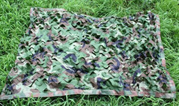 Wholesale E x2m multicolor Hunting Camping Outdoor Desert Woodlands Blinds Army Camouflage Net camo Sun Shelter Jungle Blinds Car covers Net