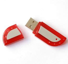 Wholesale 2016 Red Color Plastic ABS USB Stick With Custom LOGO And For PC Computer From China USB Factory