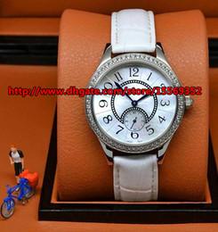 Luxury fashion business classic noble precision import quartz diamond independent running second waterproof belt Beautiful Ladies Watch