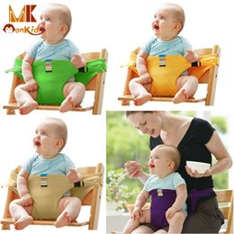Wholesale Monkids Baby Carriers Chair Portable Seat Dining Lunch Chair Seat Safety Belt Newborn Cradle Pouch Baby Sling Backpacks Colors