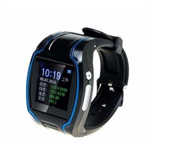 Wholesale New Smart human TK109 GPS Watch Tracker tracking device N SOS For Running Man Two way communication with software