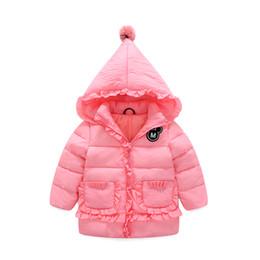 2017 new fashion wild jacket jacket girl sweet cartoon warm hats down jacket 4 color optional