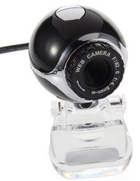 Wholesale New Mega Pixel USB Webcam Web Camera For Windows XP Vista Laptop PC Computer Black