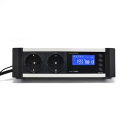 Wholesale RINGDER AC V A EU Plug Digital Reptile Aquarium Temperature Controller Thermostat