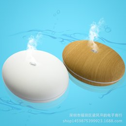Wholesale Mini ML Air Humidifier Electric Aromatherapy Essential Oil Diffuser with Color Light and Moblie Control