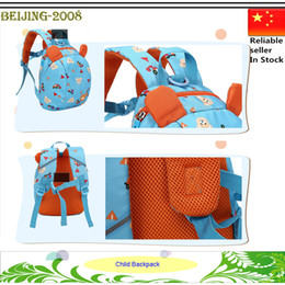 Wholesale Baby Kindergarten Children School Bag Kids Harness Leash Tether Anti lost Walking Backpack Kid Keeper Toddler Safety bag