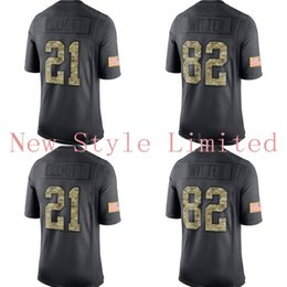 Wholesale Hot Limited Cowboys Dak Prescott Ezekiel Elliott Jason Witten Black Admiral Salute To Service Stitched Embroidery Football Jerseys