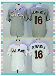Wholesale New Product Men s Elite Miami Marlins Baseball Jersey Jose Fernandez Black Orange White Cool Base Authentic Jerseys