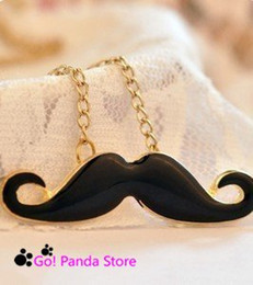 Wholesale Min order is mix order Fashion Necklace personality Avanti Sexy beard Necklace jewelry pendant Sweater chain A