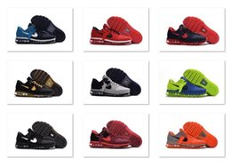 Wholesale cheap new Mens sneakers maxes shoes KPU in White Black Red Blue Green Orange big size in top quality