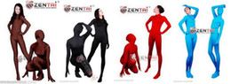 More Colors Wholesale NEW Zentai Lycra Catsuit fullboby sexy suit S-XXL