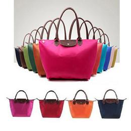 Wholesale Women Leather Handbags Shopping Shoulder Bags Ladies Designer Beach Travel Totes Nylon WaterProof Handbag