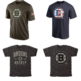 Wholesale NHL Bruins T Shirts cheap Hockey jerseys Tshirts Boston Salute To Service Camo Stack Rink Warrior Tri Blend