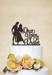 Wholesale Acrylic Sleeping Beauty custom name birthday cake toppers wedding bridal baby shower Bachelor party theme decorations