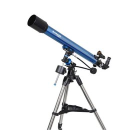 Wholesale New Meade Polaris mm German Equatorial Refracting Telescopes w Red Dot Viewfinder Blue W2519L