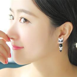 Moda oscilación Fox clavo del oído del viejo original alrededor de las partes del pendiente Feel 100% La aleación de joyería de envasado YiwuZhejiang Independiente desde piezas de joyería de moda fabricantes