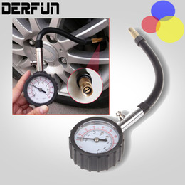 Wholesale Long Tube Auto Car Bike Motor Tyre Air Pressure Gauge Meter Tire Pressure Gauge PSI Meter Vehicle Tester Monitoring System