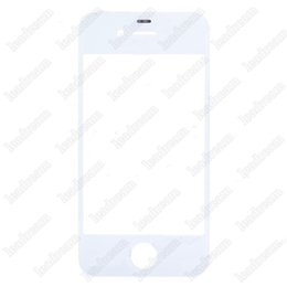 100PCS Front Outer Touch Screen Glass Replacement for iPhone 4 4s Black White Free DHL