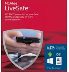 Wholesale McAfee LiveSafe Antivirus internet security Unlimited Devices PC Mac Android iOS Year Protection