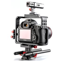 Wholesale 2017 Brand New Release Products Aluminium Dslr Camera Cage Camera Rig for Mark D IV Digital Camera
