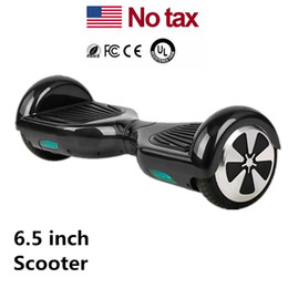 Wholesale LED Scooters Skateboard Electric Mini Self Balancing Wheel Hover Board Smart Balance Scooter inch Two Wheels USA Stock Drop Shipping